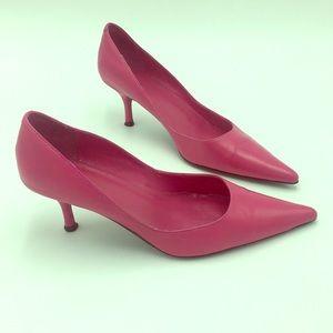 Pink Aldo Kitten Heels